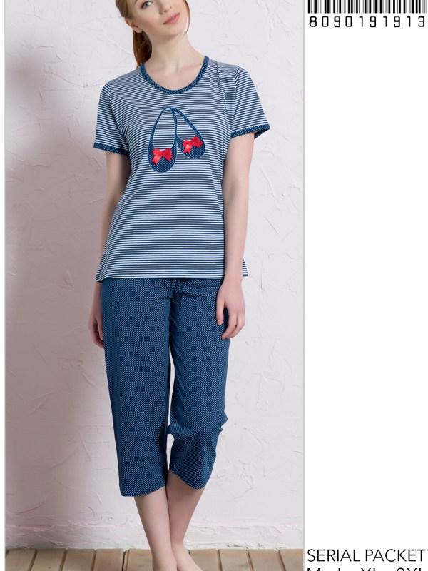Пижама женская Капри 8090191913