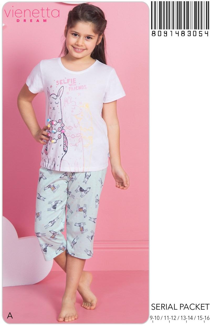 Пижама детская капри 8091483054