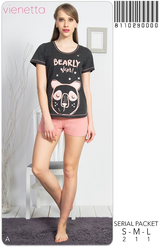 Пижама женская шорты 8110290000