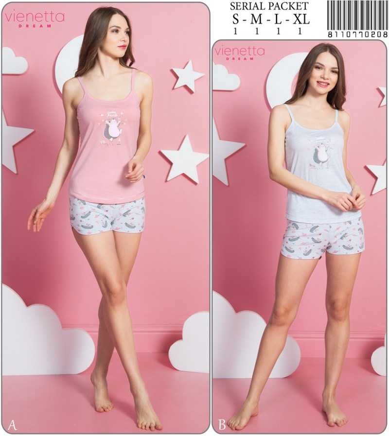 Пижама женская Шорты 8110770208