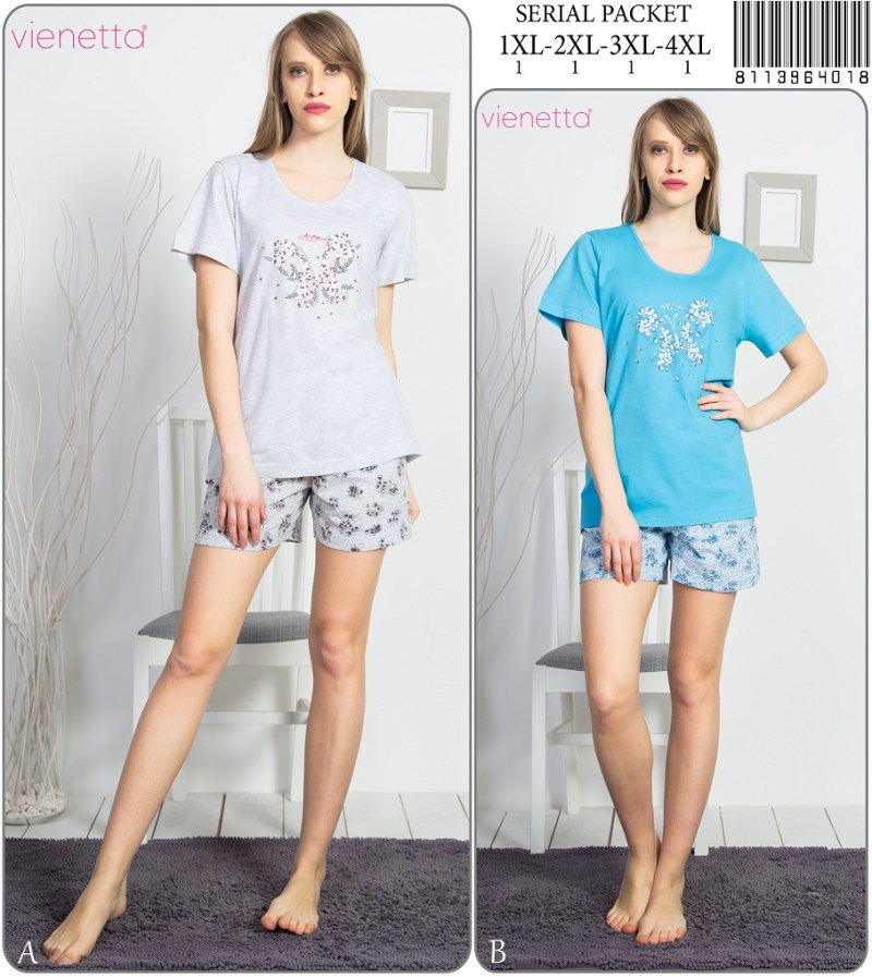 Пижама женская Шорты 8113964018