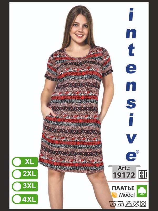 Платье женское Intensive 19172 XL-4XL