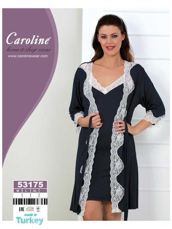 Набор халат ночная Caroline 53175