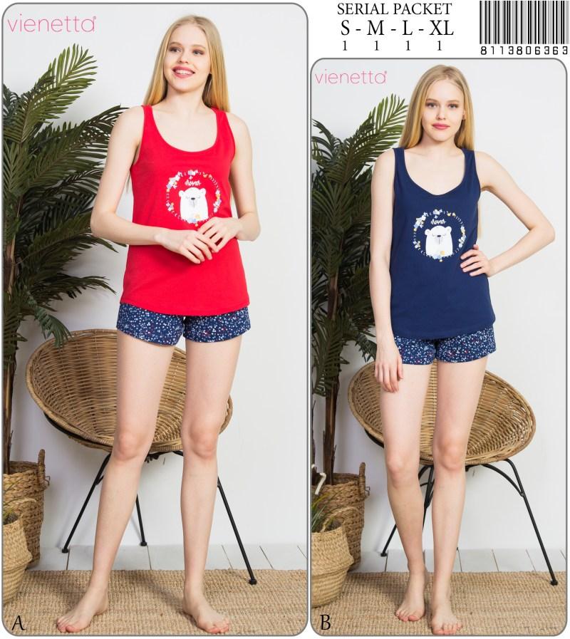 Пижама женская шорты 8113806363
