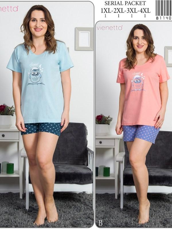 Пижама женская шорты 8114032564