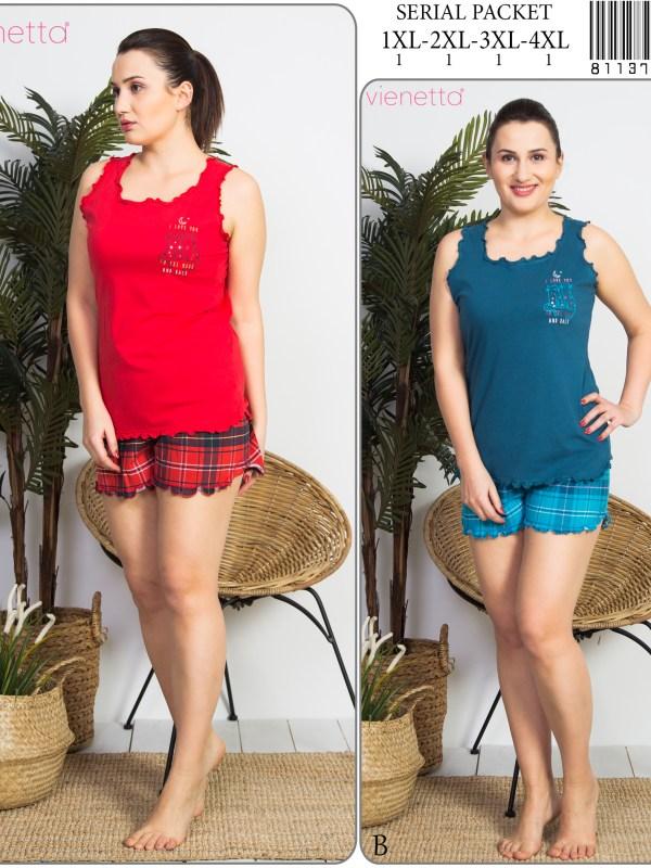 Пижама женская шорты 8113763419
