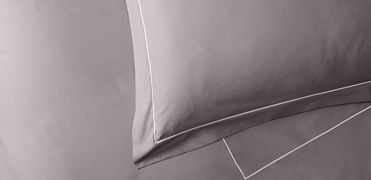 ivory sateen pillow shams sofitel