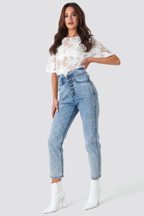 rut-20-01-30 sanja high waist jeans
