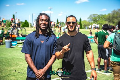 135 - USF Spring Game 2018 - USF Devon Jones-Stewart Anthony Beko by Dennis Akers | SoFloBulls.com (6016x4016)
