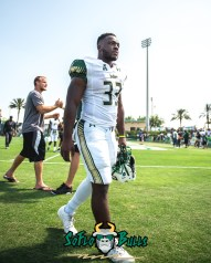 141 - USF Spring Game 2018 - USF RB Dave Small by Dennis Akers - SoFloBulls.com (3715x4644)