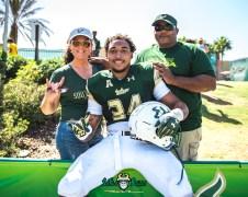 144 - USF Spring Game 2018 - USF LB Keirston Johnson by Dennis Akers | SoFloBulls.com (4202x3362)