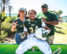 144 - USF Spring Game 2018 - USF LB Keirston Johnson by Dennis Akers | SoFloBulls.com (4202x3362)