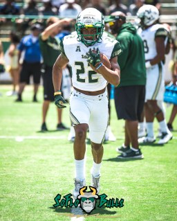 15 - USF Spring Game 2018 - USF RB Duran Bell by Dennis Akers - SoFloBulls.com (3589x4486)