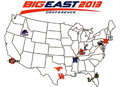 2012: Skip's Junior Campaign | BigEast Announces Proposed Divisions | by Matthew Manuri