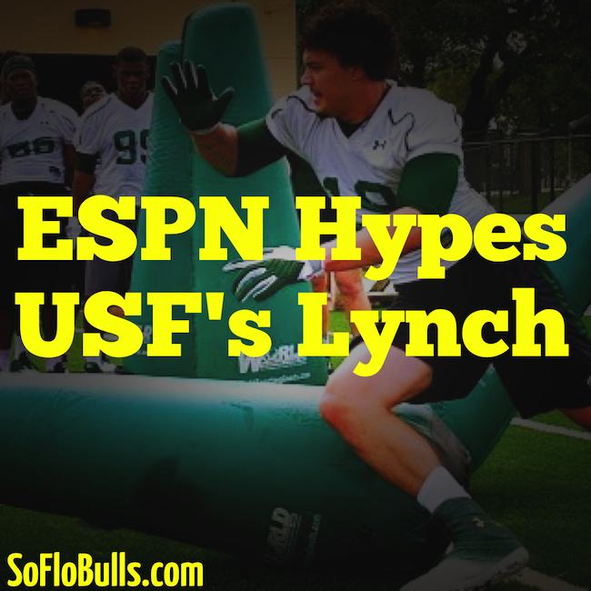 ESPN Hypes USF's Lynch | by Matthew Manuri | SoFloBulls.com |