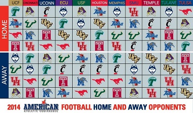 2014 AAC Intraconference Schedules   SoFloBulls Blog