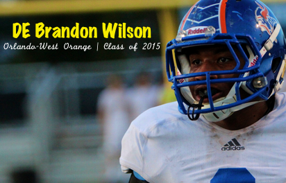 West Orange DE Brandon Wilson | Class of 2015 | SoFloBulls Blog