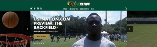USFNation.com Preview-The Backfield by Matthew Manuri Article