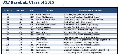 USF Baseball Class of 2015 by Matthew Manuri II (1324x609)