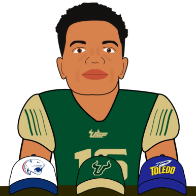 USF QB Chris Oladokun NSD Class of 2016 #USFCartoonNetwork Image (1023x597)