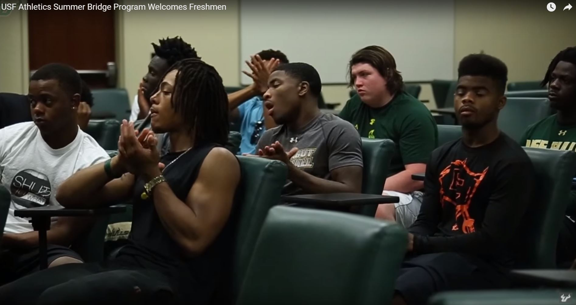 Usf Football Recruiting Class Of 2016 Arrived On Campus