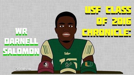 USF Class of 2016 Chronicle-WR Darnell Salomon by Matthew Manuri SoFloBulls.com (464x260)