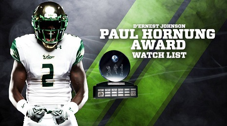 USF RB D'Ernest Johnson Named to 2016 Paul Hornung Award Watchlist HD (466x260)