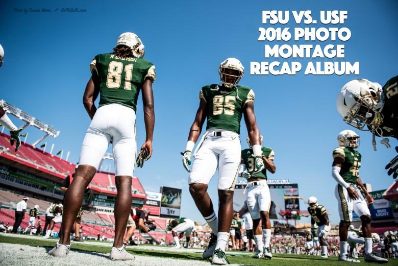 FSU vs. USF 2016 Photo Montage ReCap Album by Matthew Manuri (Photo by Dennis Akers) SoFloBulls.com