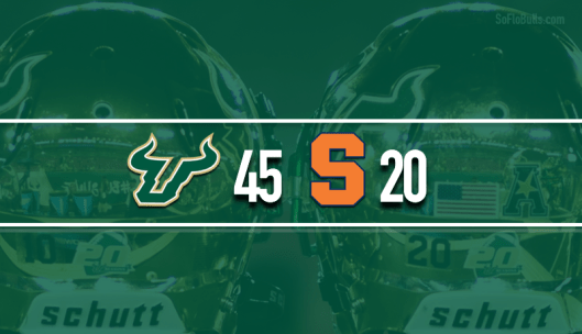 USF Claps Cuse at Carrier Dome 45-20 2016 | SoFloBulls.com (800x460)