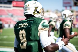 FSU vs USF 2016 28 - Quinton Flowers Pre-game by Dennis Akers (6016x4016)