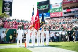 FSU vs USF 2016 47 - National Anthem by Dennis Akers (5876x3923)