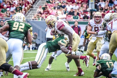 FSU vs USF 2016 92 - Jaques Patrick stuffed by Cecil Cherry by Dennis Akers (4512x3008)