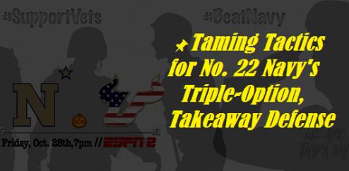 📌 Taming Tactics for No. 22 Navy's Triple-Option, Takeaway Defense | SoFloBulls.com