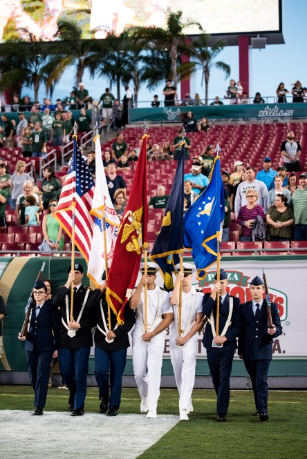 19 - Navy vs. USF 2016 - Military National Anthem Flags by Dennis Akers | SoFloBulls.com (3724x5578)