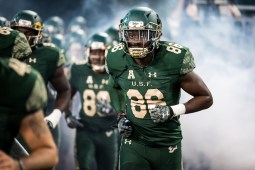 28 - Navy vs. USF 2016 - USF WR Stanley Clerveaux by Dennis Akers | SoFloBulls.com (5075x3388)