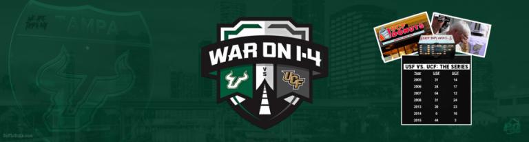 #WarOnI4 Destroy C. Florida UCiF 2016 USF Football Header Image by Matthew Manuri | SoFloBulls.com (960x257)