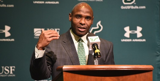 🎙 AUDIO-USF Head Coach Charlie Strong on Outkick the Coverage with Clay Travis | SoFloBulls.com [Photo by Dennis Akers]