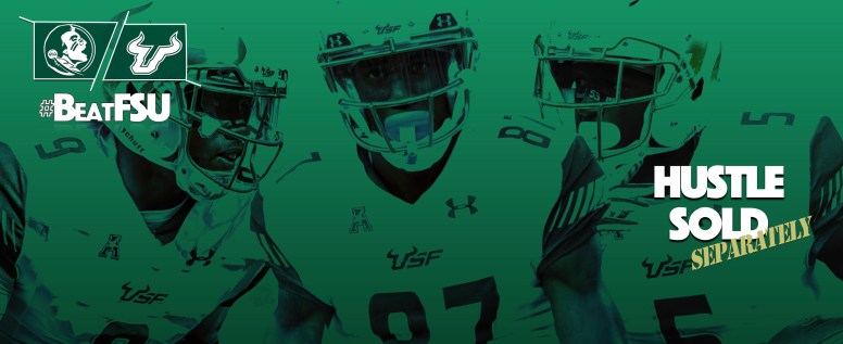 #BeatFSU Florida State vs. USF Football 2016 Facebook Cover Photo by Matthew Manuri | SoFloBulls.com (3568x1462)