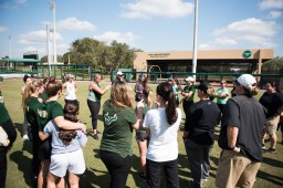 2017 USF Bulls Softball Coach Ken Eriksen Addresses Alumni Group by Dennis Akers | SoFloBulls.com
