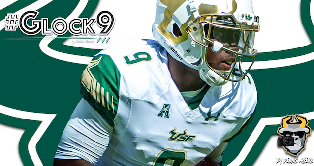 #Glock9 USF QB Quinton Flowers Highlights 2016 YouTube Image by Matthew Manuri | SoFloBulls.com