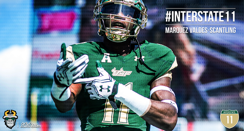 #Interstate11 USF WR Marquez Valdes-Scantling Highlights 2016 Article Image by Matthew Manuri | SoFloBulls.com (500x268)