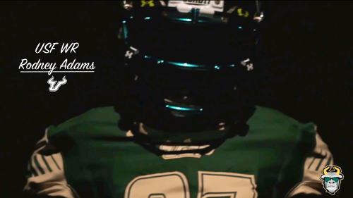 #HeGone87 South Florida WR Rodney Adams Teaser 2016 YouTube Cover Image Dark by Matthew Manuri | SoFloBulls.com (500x281)