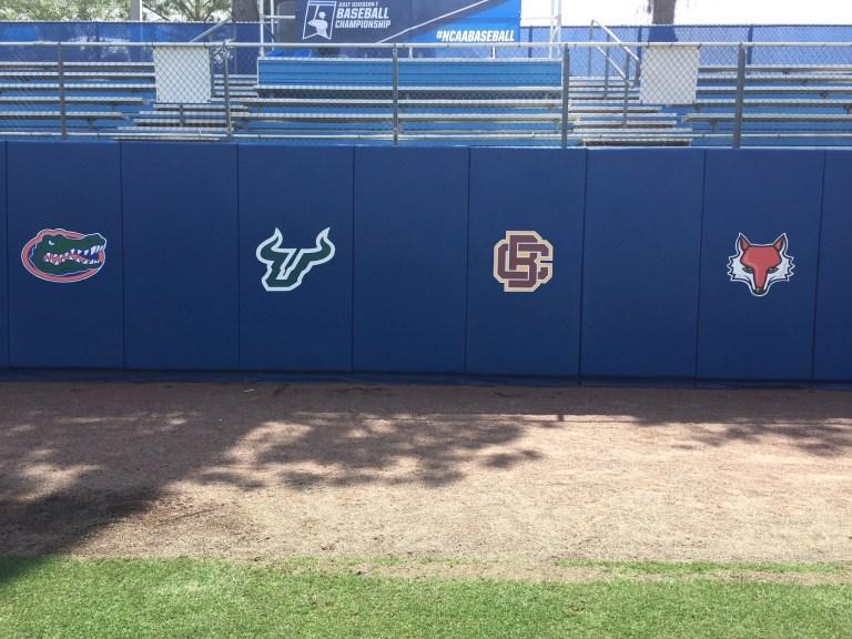 2017 CWS Gainesville Regional Baseball Tournament Team Logos | SoFloBulls.com