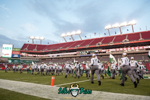17 - Temple vs. USF 2017 - USF White Hot Band Pre-Game by Dennis Akers | SoFloBulls.com (5457x3643)