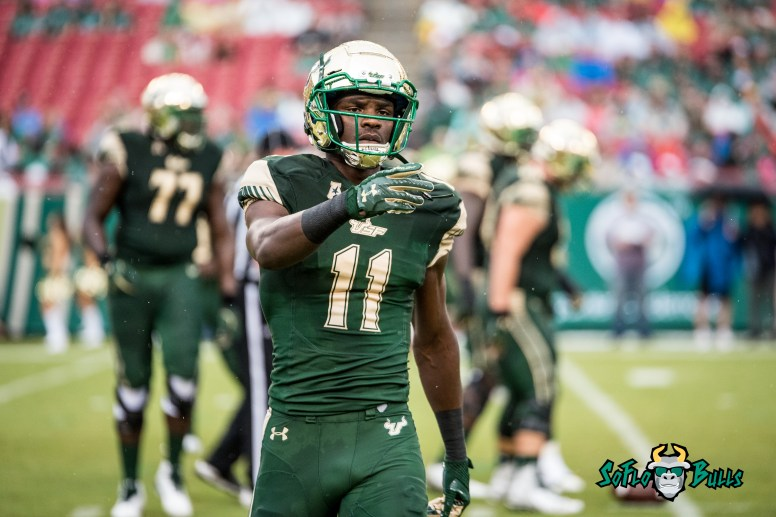 23 - Stony Brook vs. USF 2017 - USF WR Marquez Valdes-Scantling by Dennis Akers | SoFloBulls.com (5053x3373)