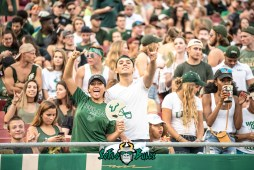 24 - Illinois vs. USF 2017 - USF Fans in Crowd by Dennis Akers | SoFloBulls.com (6016x4016)