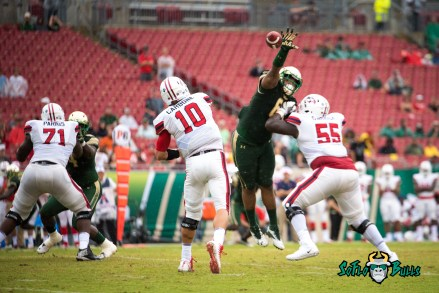 27 - Stony Brook vs. USF 2017 - USF DT Bruce Hector by Dennis Akers | SoFloBulls.com (5002x3339)