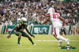 30 - Stony Brook vs. USF 2017 - USF DB Ronnie Hoggins by Dennis Akers | SoFloBulls.com (4789x3197)