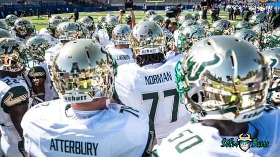 34 - USF vs. San Jose State 2017 - USF OL Billy Atterbury Brooks Larkin Marcus Norman by Dennis Akers | SoFloBulls.com (588x3308)