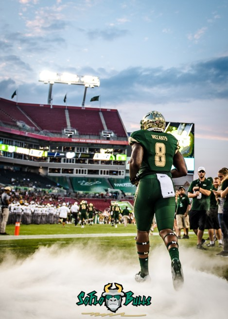 42 - Temple vs. USF 2017 - USF WR Tyre McCants by Dennis Akers | SoFloBulls.com (1756x2458)